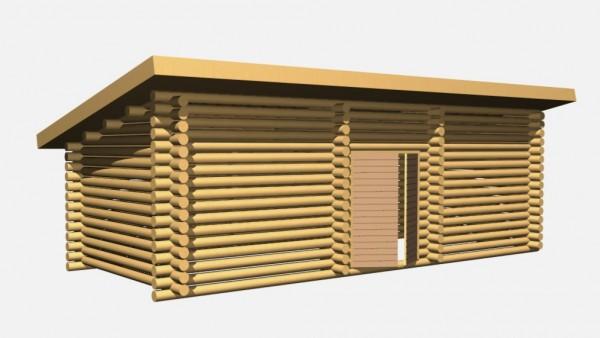 № 499 3D2 pulpettikatto puuvaja