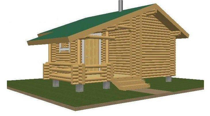 Sauna 20,80 julkisivu